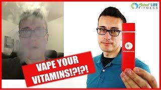 VITAMIN VAPE REVIEW - WTF?? Vitamin B12 Vaping