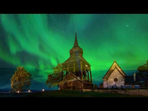 Norrskensbilder nu som frimärken