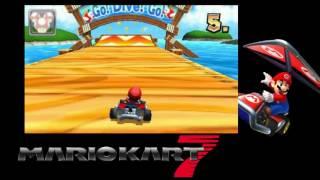 Mario Kart 7 Mushroom Cup 9000cc (._.)