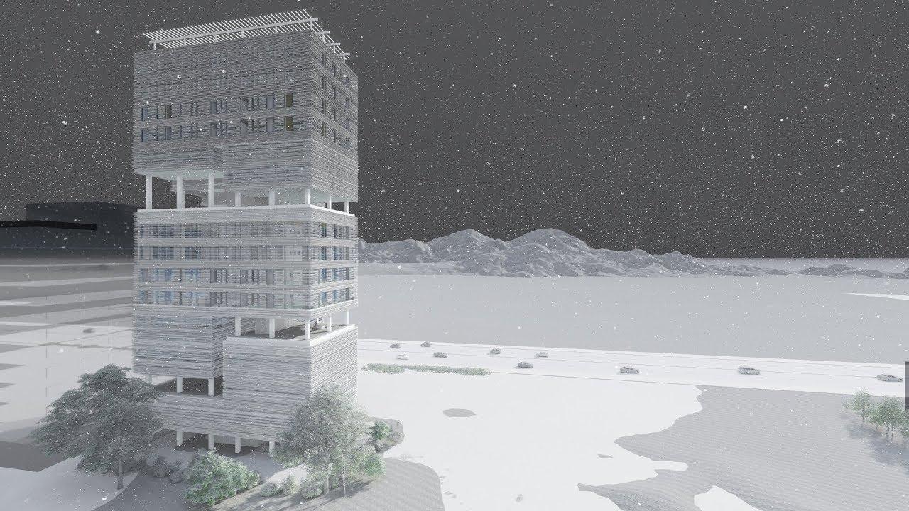 コンペ2018 作品名Layered Terrace 穴田 志穂