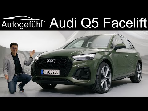 New Audi Q5 s-line Facelift REVIEW Exterior Interior Premiere 2021 2020