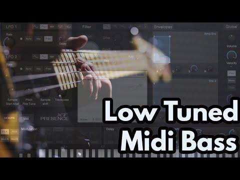 Low Tune Midi Bass (Drop G) With Presence XT