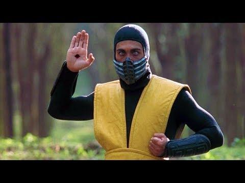 Johnny Cage vs Scorpion | Mortal Kombat