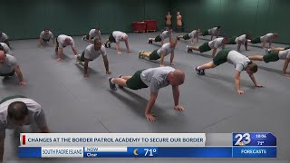 A behind the scenes look at the U.S. Border Patrol Academy