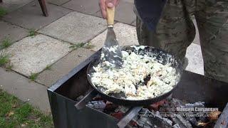 Яичница По-Монгольски или Просто Очень Вкусная Яичница )