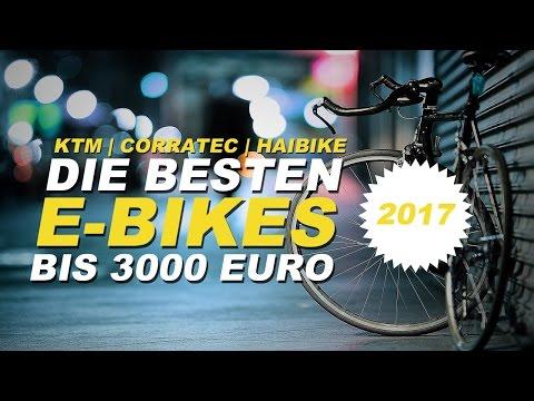 Bestes E-Bike 2017 | TOP 3 | Die besten E-Bikes bis 3000 Euro im Kurz-Test