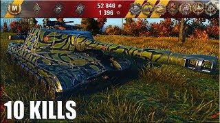 Объект 268 ПОКУСТОДРОЧИЛ И ЗАТАЩИЛ 🌟 медаль Колобанова, 10 фрагов 🌟 World of Tanks лучший бой  пт