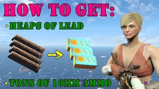 Fallout 4 Guide: Where To Find FREE Lead For Crafting 10mm Ammo (Contraptions Workshop)