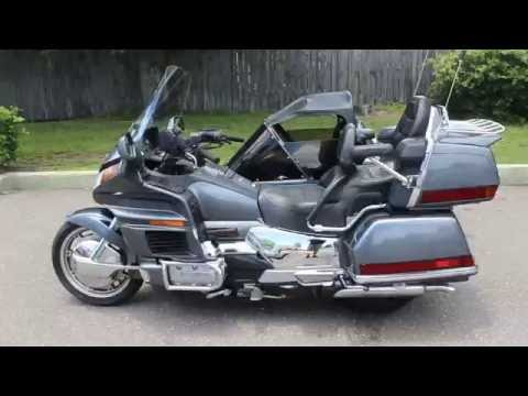 1988 goldwing 1500 with california side car 2 person walk around review for sale at ride pro
