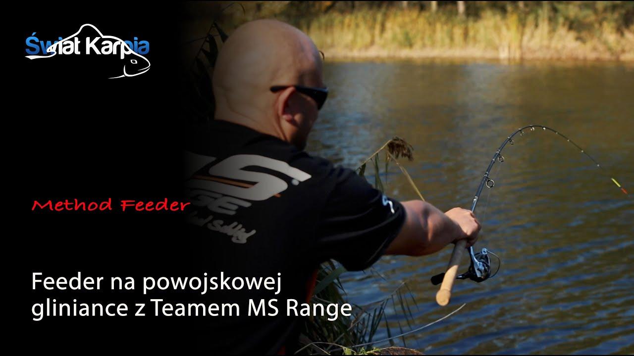 Feeder na powojskowej gliniance z Teamem MS Range