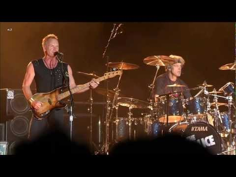 The Police - Message in a Bottle 2008 Live Video HD