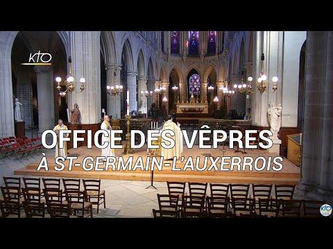 Vêpres du 11 mai 2020 à St-Germain-l'Auxerrois
