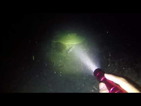 Potápěčská svítilna Orcatorch D520 reálný test