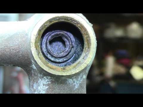 Tub valve renewing a seat