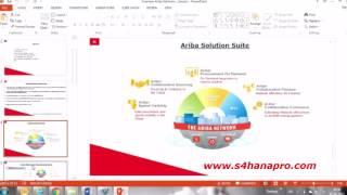 LEARN SAP ARIBA SAMPLE DEMO