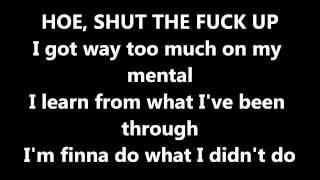 All Me- Drake ft.2Chainz lyrics
