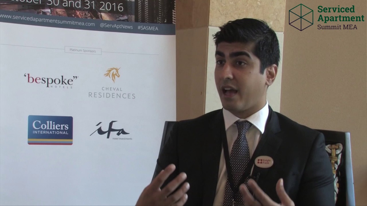 Serviced Apartment Summit MEA 2016 interviews: Ali Manzoor, Knight Frank