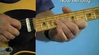 Blues Guitar Lesson: Note Bending