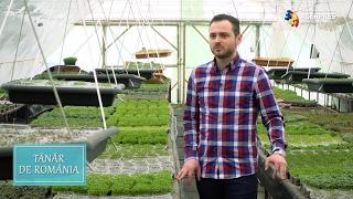 Tânăr de România: Microplantele cu gust de succes