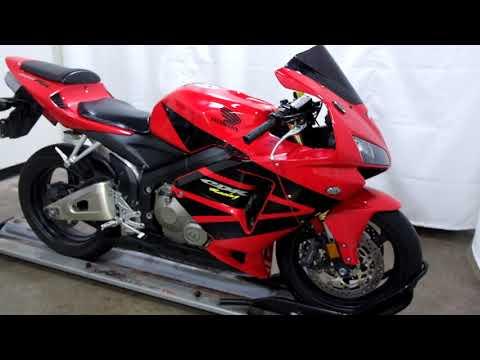 2006 Honda CBR®600RR in Eden Prairie, Minnesota - Video 1
