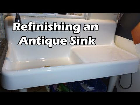 How to Refinish a Porcelain Sink