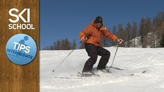 #14 Ski Intermediate – Foot rotation and Hockey stop