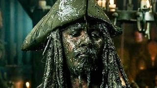 Смотреть онлайн Трейлер Пираты карибского моря 5 на русском языке