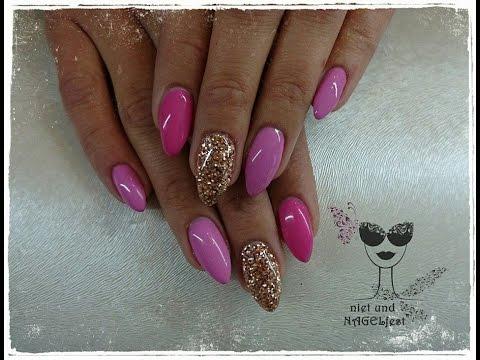 Fullcover Pink+Glitzer