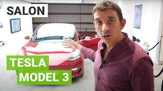 La Tesla Model 3 au Mondial de l'Auto de Paris