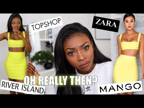 THESE CLOTHING BRANDS REALLY WANTED TO TEST ME, NOT TODAY! ZARA, TOPSHOP, RIVER ISLAND & MORE