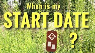 Appalachian Trail Start Date
