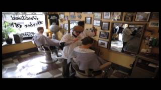 preview picture of video 'Pugsly's Barbershop'