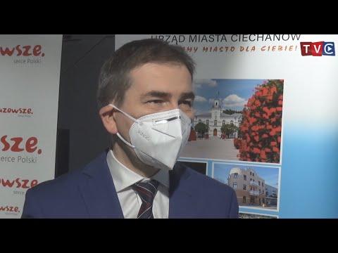 Inwestycje w 2021 roku oraz bieżąca sytuacja w Ciechanowskim szpitalu [VIDEO]