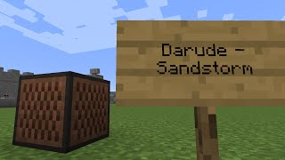 Gambar cover Darude - Sandstorm (Minecraft Note Block Remake)