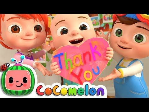 Thank You Song | CoCoMelon Nursery Rhymes & Kids Songs