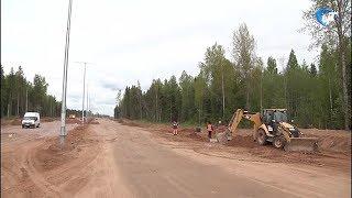 Со строительства участка трассы «Москва – Санкт-Петербург» украли автокран