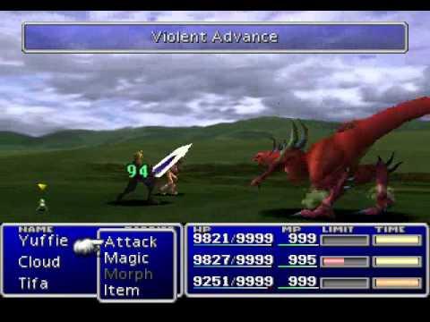 Final Fantasy VII - Support Materia Exhibition