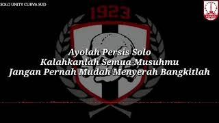 Solo Unity Curva Sud (Ultras Surakarta) - Bangkitlah Sambernyawa