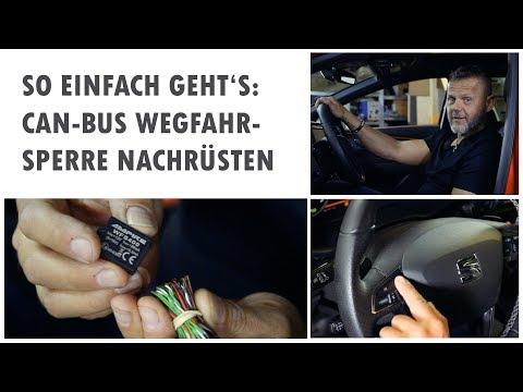 CAN Bus Wegfahrsperre AMPIRE WFS400 - Einbau und Funktionsweise