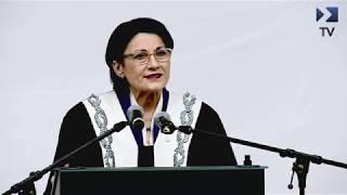 Festivitatea De Deschidere A Anului Universitar 2018 - 2019 - Președinte Senat Ecaterina Andronescu
