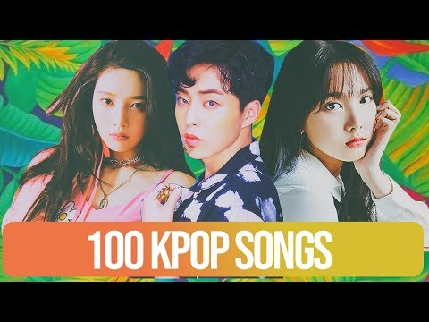 TOP 100 K-POP SONGS IN 5 MINUTES | Collab with Ultimate Kpop