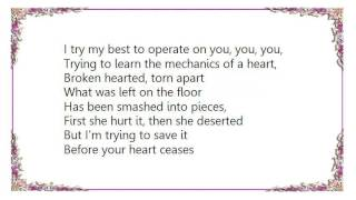 Cheryl - Mechanics of the Heart Lyrics