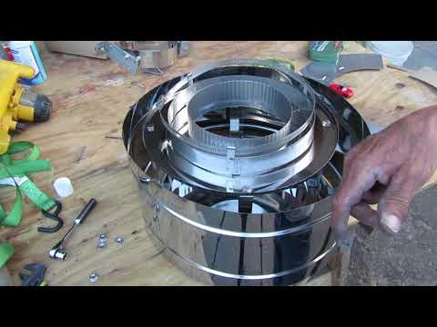 How to Assemble The Chimney Cap and Pipe Bands
