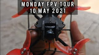 Monday FPV Tour with my Micro Drone 239 Size