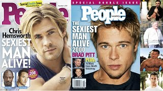 All 'sexiest man alive' winners, Then and now with age