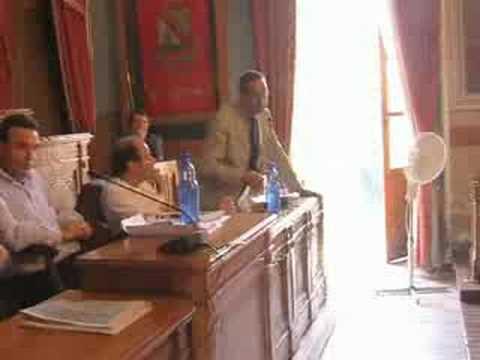 consiglio comunale di lamezia terme del 22 luglio 2008