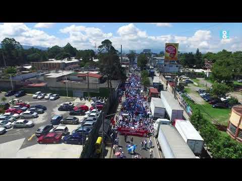 El paso de la Universidad de San Carlos por la avenida Petapa