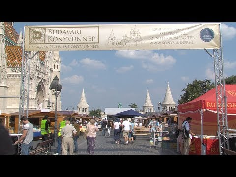 Budavári Könyvünnep - 2018. augusztus 31. - video preview image