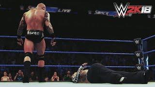 WWE 2K18 || Erasing The Enigma