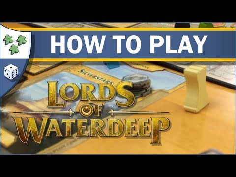Nights Around a Table - How to Play Lords of Waterdeep: A Dungeons and Dragons Board Game